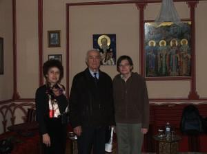 """Академично посещение в Софийската духовна семинария """"Св. Иван Рилски"""""""