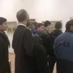 посещение галерия